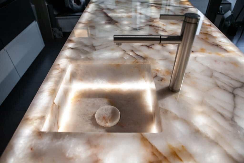 lightstone keukenblad